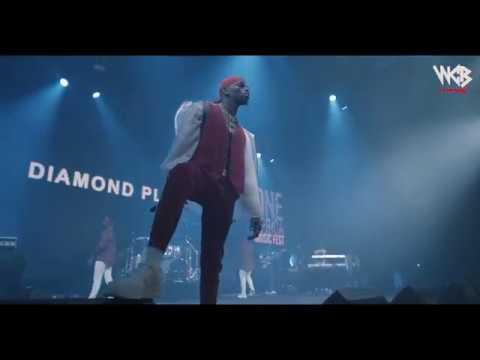 Diamond Platnumz - Perfoming live at One Africa Music Festival 2018 (DUBAI)