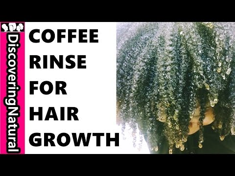 HOW TO USE COFFEE RINSE FOR HAIR GROWTH and HAIR LOSS