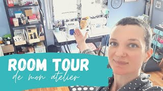 Visite De Mon Atelier Couture - Sewing Room Tour