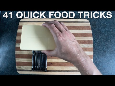 41 Quick Food Tricks - You Suck At Cooking