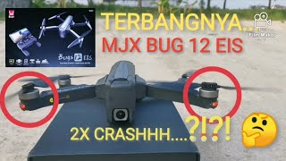 MJX BUG 12 terbang setelah crash (NO TRAUMA)