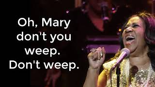 The Top Aretha Franklin Gospel Songs! - Lyric Video