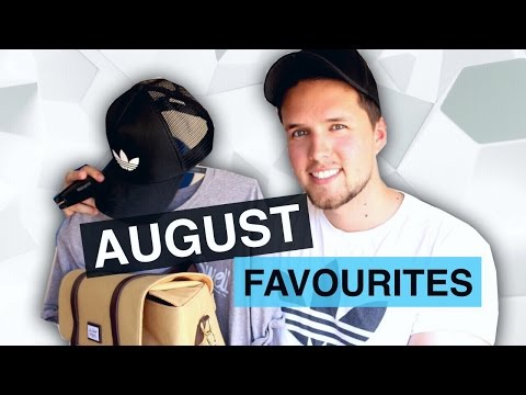 AUGUST FAVOURITES   Mens Fashion, Adidas, Manfrotto, New Look & More!