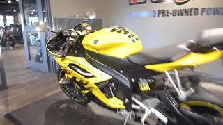 2008 Yamaha YZF-R6 Cadmium Yellow w/Flames | Engelhart Motorsports
