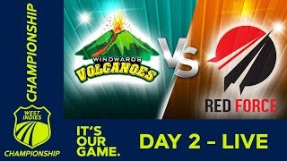West Indies Championship - Day 2   Windwards v T&T Red Force   Friday 1st March 2019