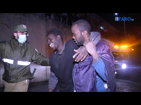 Espanja: noin 300 afrikkalaista pakolaista ylitti Ceutan raja-aidan