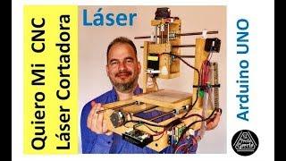 ✅ CNC Láser , construcción paso a paso Tutorial #1