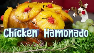 WHOLE CHICKEN HAMONADO チキンハム (Chicken Recipes 2020)