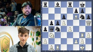 Who Will Blink First? || Dubov Vs Nakamura || Magnus Carlsen Chess Tour Finals Day 1 2020