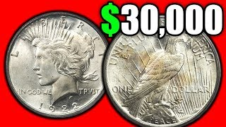 ARE THESE SILVER DOLLAR COINS REALLY WORTH MONEY? PEACE DOLLAR COIN PRICES