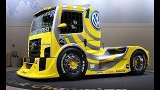 Смотреть онлайн Экстремальные гонки на американских грузовиках