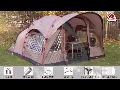 1247f59ddb7 Шестместна палатка Robens Cabin 600   Палатки   CampingRocks.bg ...