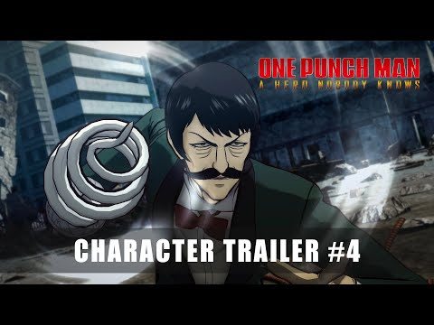 CHARACTER TRAILER #4 de One Punch Man : A Hero Nobody Knows