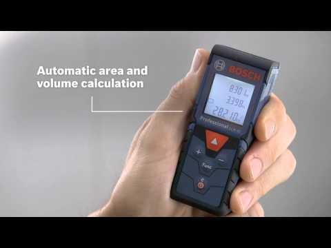 Bosch Laser Entfernungsmesser Neigungssensor : Bosch professional glm 40 test 2018 mit video angebote