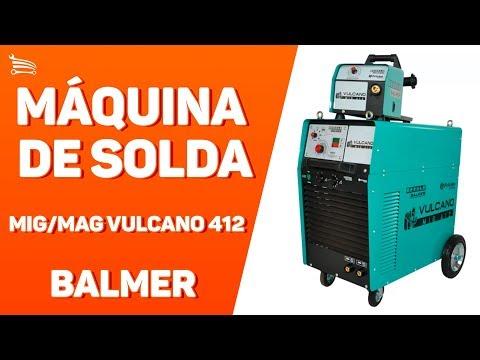 Máquina de Solda MIG/MAG Arame Tubular 220 / 380 V - Video