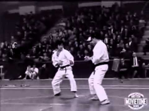 Yoshinao Nanbu karate in the 60-s