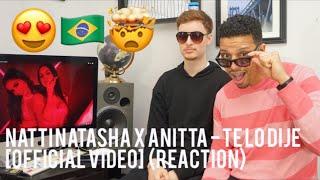Natti Natasha X Anitta   Te Lo Dije  (reaction)