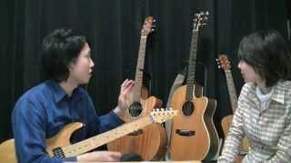 【ギター教室対談】第4回「ギターってどういうものがあるの?」 上坂実ギター教室 × Rumika's Music School