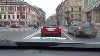 07/10/2014 -Уроки автовождения в Санкт Петербурге