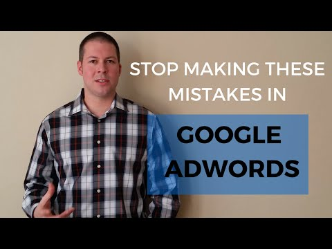 5 Common Mistakes Made in Google AdWords: How To Fix Them