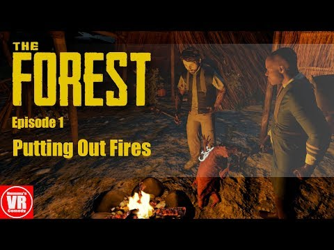 Now this is how you role-play as plane crash survivors (The Forest VR)