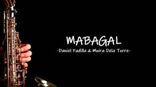 Mabagal karaoke (Saxophone) - Daniel and Moira