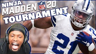 Madden 20 Ninja Member Tourney - A Fight Breaks Out In The First Round! (Someone Was Big Mad!)