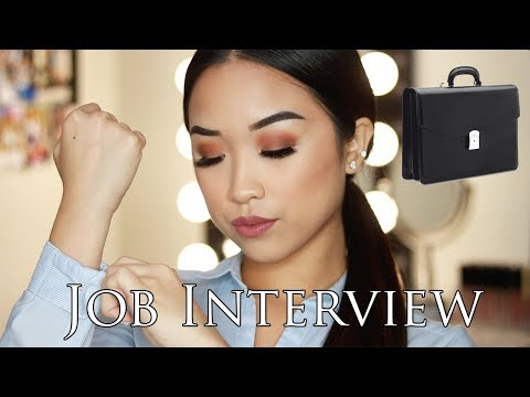 Makeup, Hair, & What To Wear For A Job Interview | Christine Du