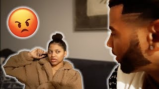 PRESSING MY SISTER ABOUT SECRETLY DATING MY BEST FRIEND BEHIND MY BACK!! (SHE SNAPPED)