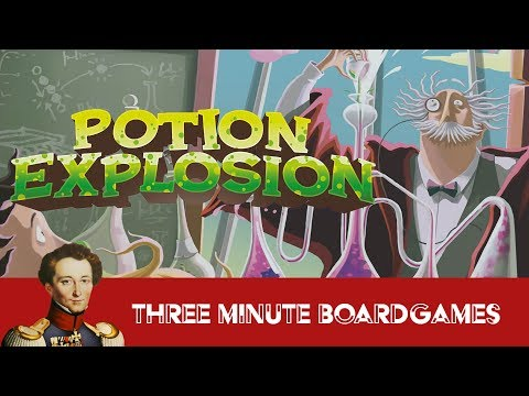 Potion explosion in about 3 minutes + expansion