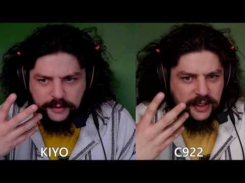 Logitech C922 Vs. Razer Kiyo Webcam Comparison Review
