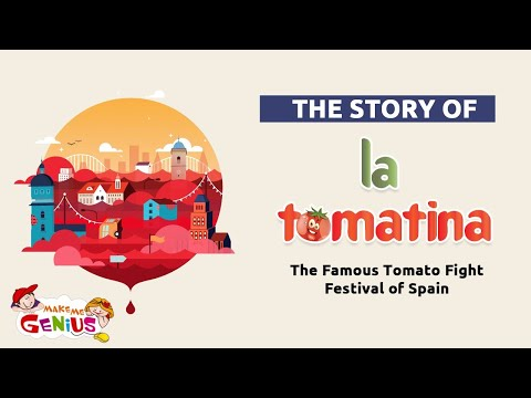 The Story of La Tomatina –The Famous Tomato Fight Festival of Spain