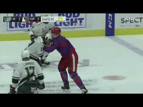 Dylan McIlrath vs. Hunter Warner