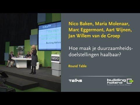 Round Table - Hoe maak je de duurzaamheidsdoelstellingen voor de woningbouw haalbaar?