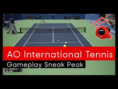 AO International Tennis: Gameplay sneak peak thumbnail