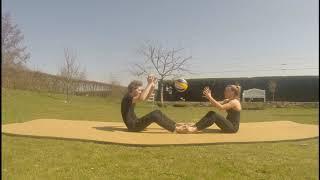 Partner Workout mit Luisa (20 Min.)