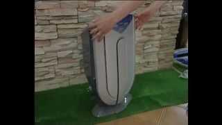 "Oчиститель воздуха ZENET XJ-3800 от компании Компания ""TECHNOVA"" - видео"