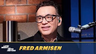 Fred Armisen Shows Off His Photographic Memory