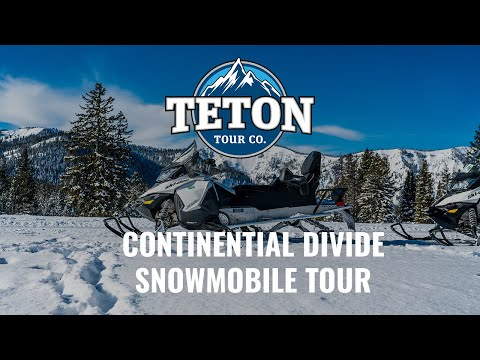 Continental Divide Snowmobile Tour
