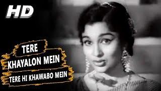 Tere Khayalon Mein Tere Hi Khwabon Mein | Lata   - YouTube