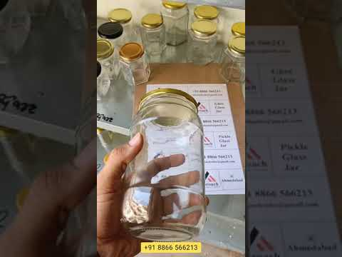 1000Ml Ghee Glass Jar