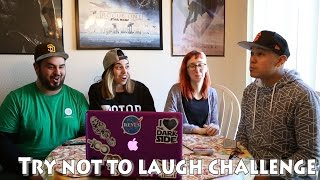 "THE NERDS ATTEMPT THE ""TRY NOT TO LAUGH CHALLENGE"""