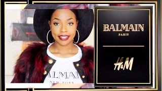 Ktura Kay Style Balmain x H&M Collection Fashion Haul/ Review