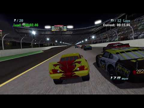 Sneak JR - Cars 1 The Videogame 360 -No Com- Lightning Mcqueen S4 VS Pro  Piston Cup Metro Race