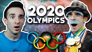 OLD MAN JOINS THE OLYMPICS!