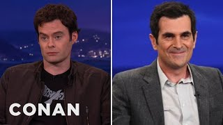 Bill Hader & Ty Burrell's Steamy Make-Out Scene