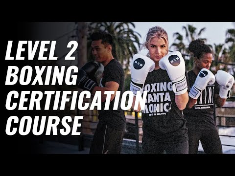 Level 2 Boxing certification course Box 'N Burn Academy - YouTube