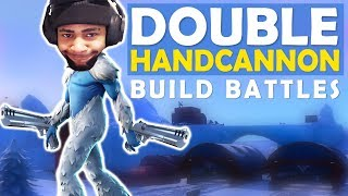 DOUBLE HANDCANNON | BUILD BATTLES | SICK SHOTS - (Fortnite Battle Royale)