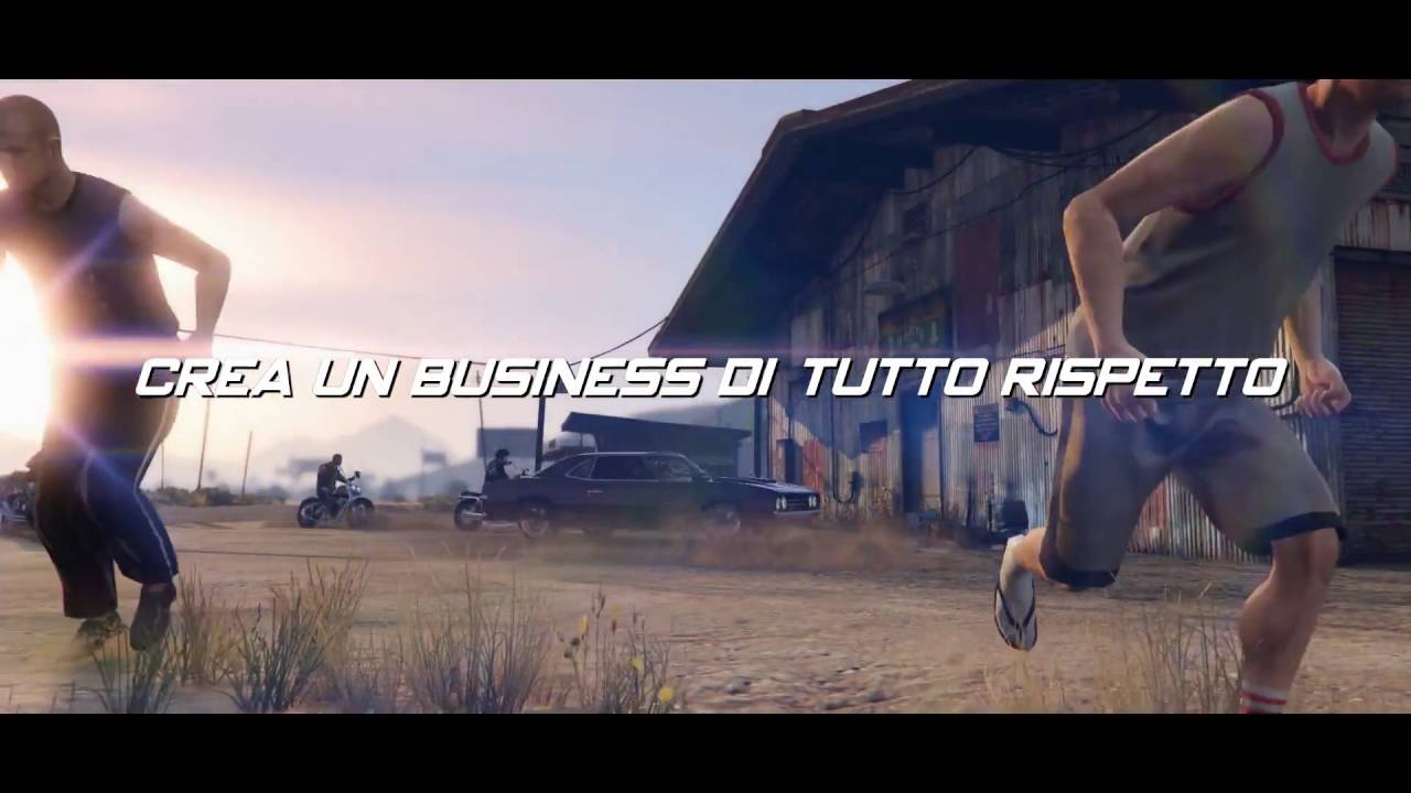 Grand Theft Auto Online - Trailer del DLC Centauri