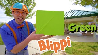 Blippi Learns About Colors, Numbers, Trucks and Animals!  Educational Videos for Kids